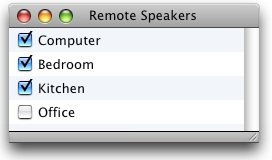 Remote Speakers